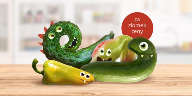 """Rohlik.cz nabízí """"ošklivou"""" zeleninu, cena je o polovinu nižší"""