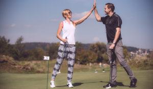 Na RETAIL MASTERS DAY se soutěžilo v golfu, tenisu i badmintonu