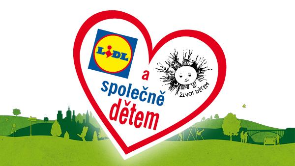 Letošní sbírka Srdce dětem začala v Lidlu, minulý rok zákazníci darovali 18 milionů