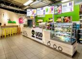 UGO otevřelo na Benzině první Freshbar, chce zaplnit díru na trhu