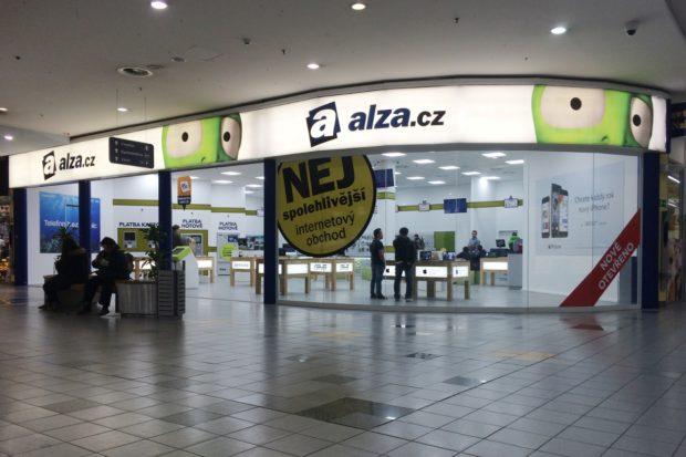 Alza.cz otevřela v ostravském Obchodním centru Futurum prodejnu s velkým skladem