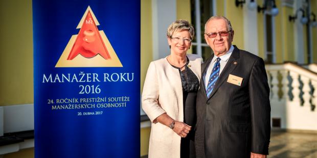 Marta Nováková a Emil Beber jsou manažery roku 2016