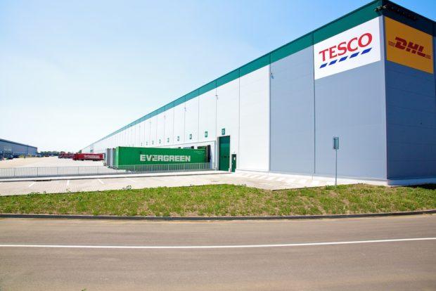 Z distribučního centra u slovenské Galanty bude Tesco vozit zboží do střední Evropy