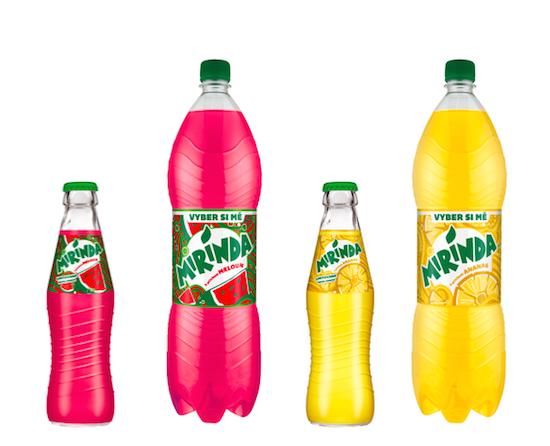 Marketingová kampaň Mirindy: Meloun zvítězil nad ananasem