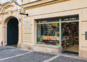 Obchodní síť Žabka otevřela novou prodejnu v centru Prahy