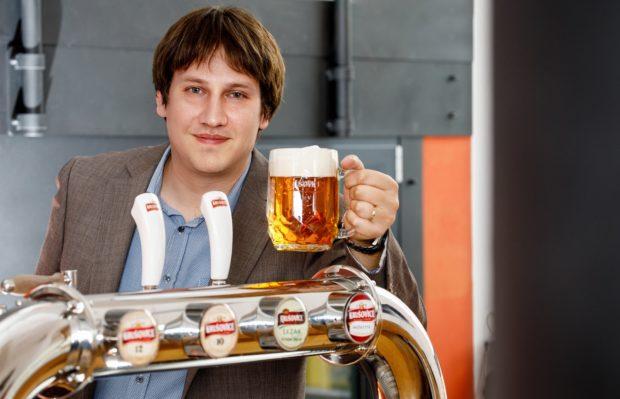 Ředitelem Královského pivovaru Krušovice je Michal Rouč