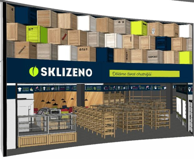 Sklizeno otevře v pražském Centru Chodov svou největší prodejnu