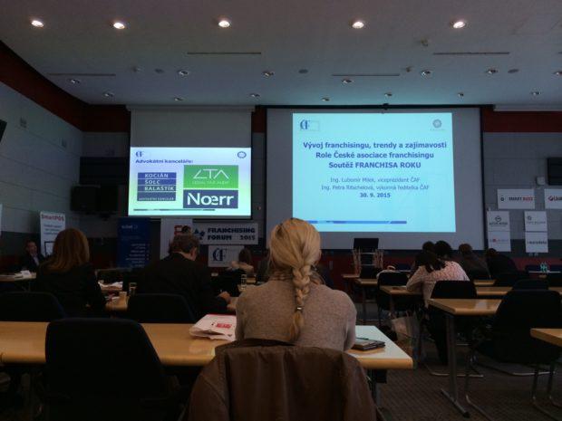 25. 10. 2017 Konference Franchising Forum 2017, Praha