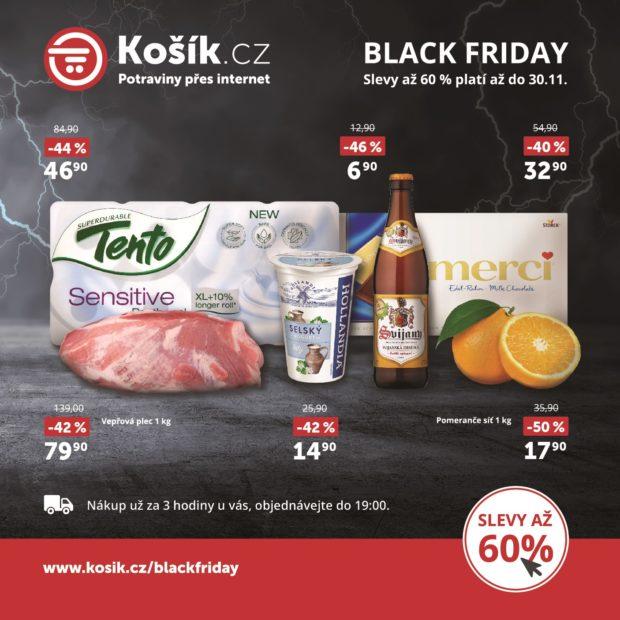 Black Friday nabídl slevy kolem 20 procent v kamenných prodejnách. V e-shopech to bylo asi 40 procent