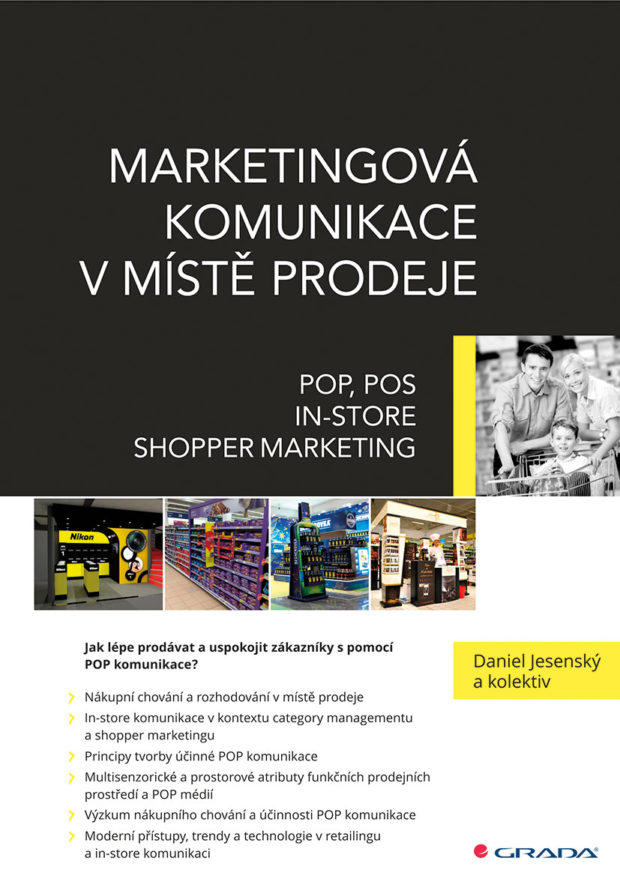 Vyšla kniha Marketingová komunikace v místě prodeje od Daniela Jesenského