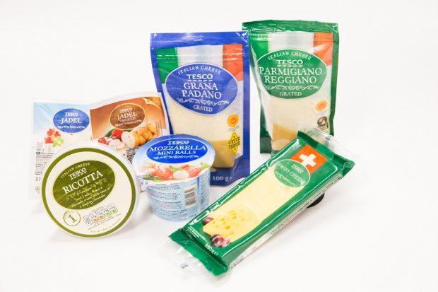 Tesco rozšiřuje nabídku mléčných výrobků vlastní značky