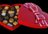 Na Valentýna promujte čokolády a víno