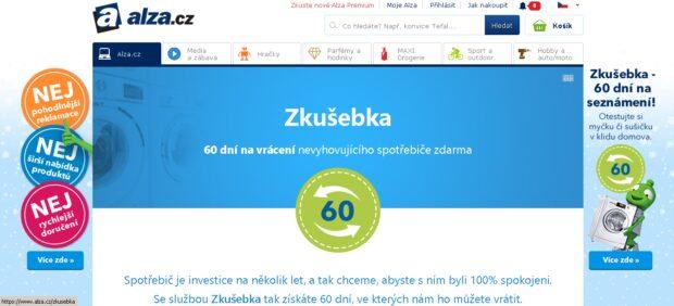 Na Alze.cz si lze objednat velké spotřebiče na zkoušku. Když je zákazník nechce, vrátí mu peníze