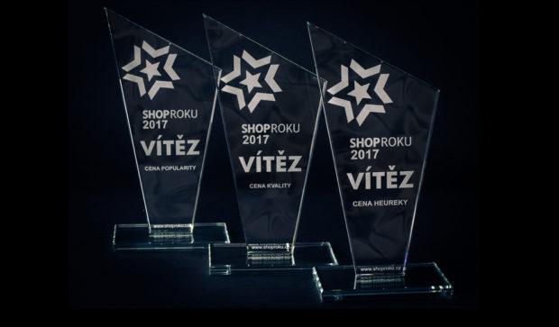 Absolutním vítězem soutěže ShopRoku je podruhé Notino.cz