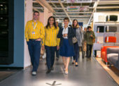 Mounia Elhilali z Francie vystřídá Marka Feltla ve funkci ředitele IKEA