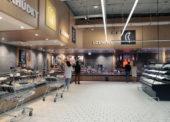Zmodernizovaná prodejna Kauflandu na pražském Vypichu má i digitální obrazovky