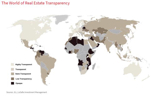 Česká republika patří mezi 25 nejtransparentnějších nemovitostních trhů světa. Porazili jsme Norsko, Slovensko i Lucembursko.