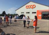 Jednota zprovoznila v Dyjákovicích u Znojma nízkoenergetickou prodejnu