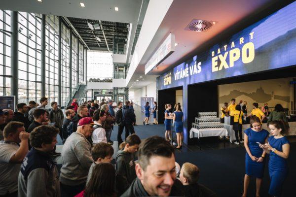 SmartWiFi monitorovalo pohyb návštěvníků na Datart Expo