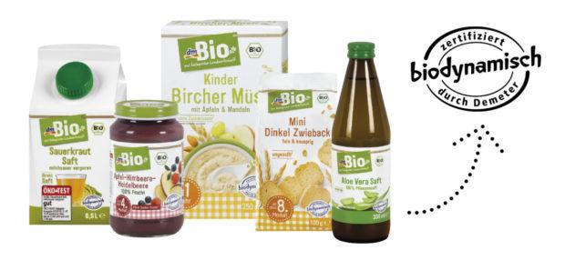 Vybrané biopotraviny v prodejnách dm drogerie nesou nově certifikát Demeter