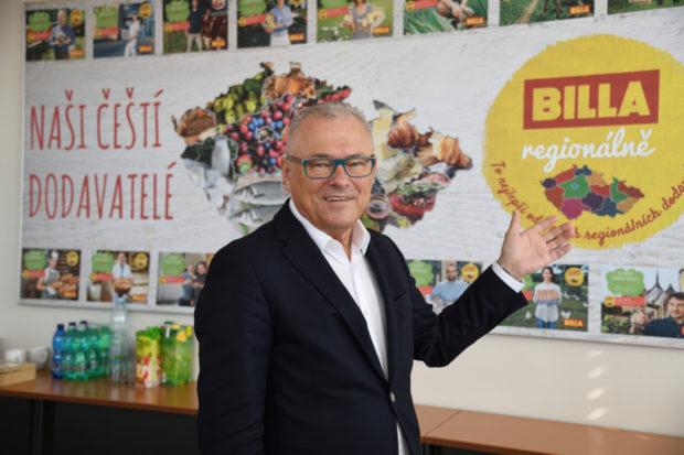 Jaroslaw Szczypka, generální ředitel společnosti Billa: Vše podle gusta našeho zákazníka