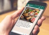 Kaufland informuje o akčních nabídkách přes aplikaci WhatsApp