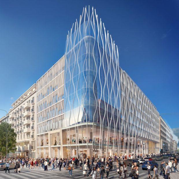 Na Václavském náměstí vyroste The Flow Building, jedním z nájemců bude Primark