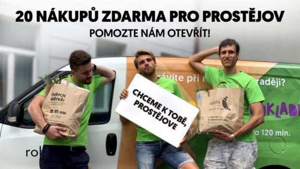 Rohlik.cz plánuje rozvážet zboží do Prostějova, pokud získá dostatek e-mailů