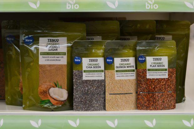 Tesco rozšiřuje sortiment bio produktů pod vlastní značkou