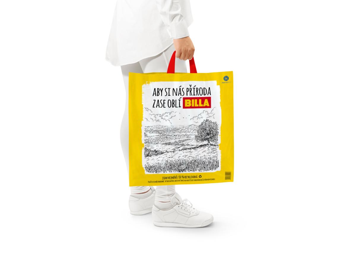 Billa plastové tašky