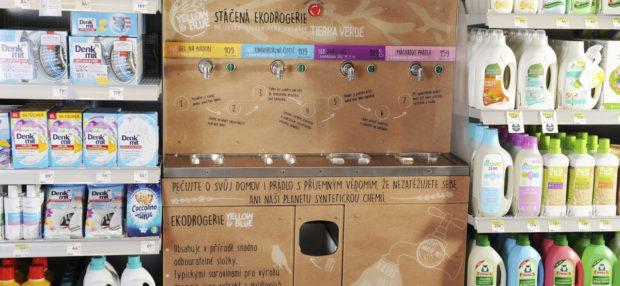 Stáčená ekodrogerie se rozšiřuje do dalších prodejen dm