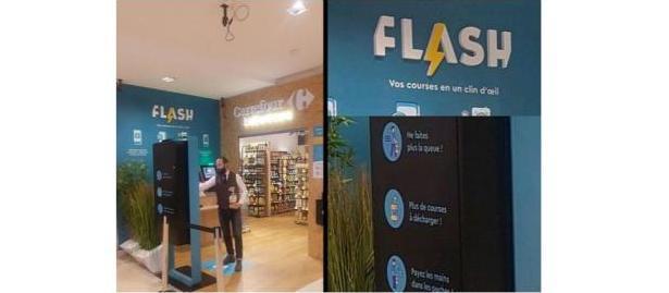 Carrefour otevřel ve svém sídle automatizovaný obchod a používá blockchain