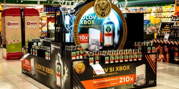 Hologram v in-store komunikaci Jägermeisteru vzbudil pozornost