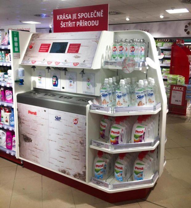 Henkel a Rossmann zahajují prodej značkové drogerie bez obalu