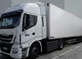 Albert přepravuje čtvrtinu zboží v kamionech s pohonem na CNG