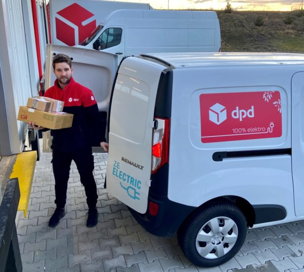 DPD testuje elektrickou dodávku značky Renault