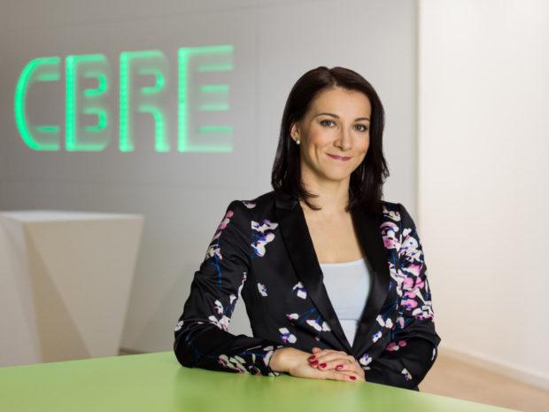Katarína Brydone bude novou ředitelkou oddělení investic v CBRE