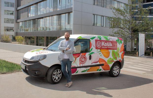 Košík.cz obslouží trvanlivými potravinami nově celé území Česka
