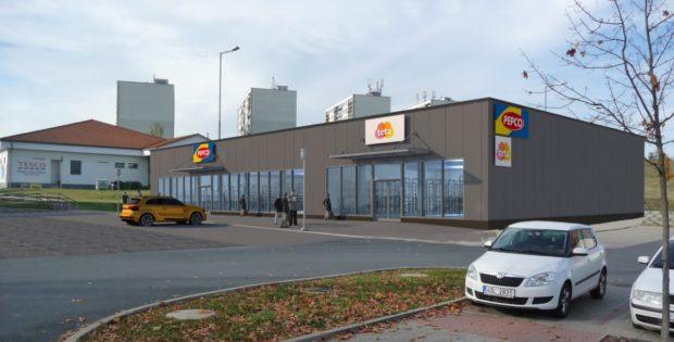 Ve Zruči nad Sázavou vzniká nové nákupní centrum