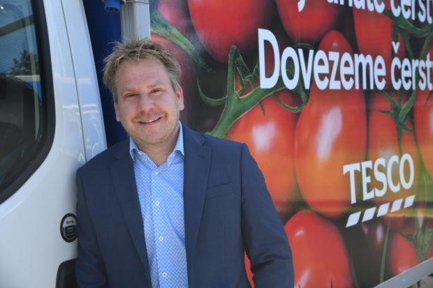 Patrik Dojčinovič, výkonný ředitel, Tesco Stores ČR: Investujeme do digitalizace a on-the-go