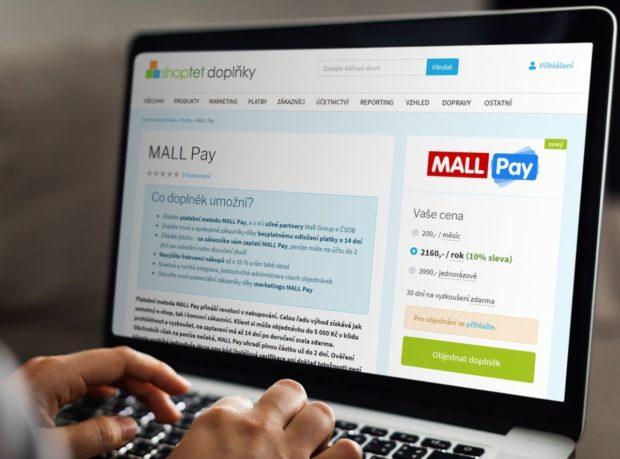 Mall Pay se integruje do e-commerce platformy Shoptet