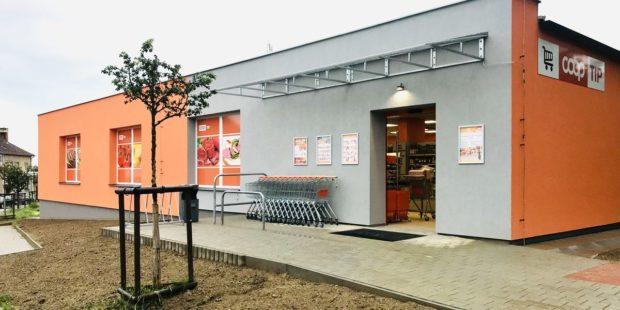 Z prodejny Coop Tuty v Chýnově je po rekonstrukci supermarket Coop Tip