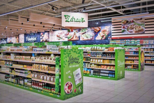 V Chrudimi se otevřel modernizovaný hypermarket Albert