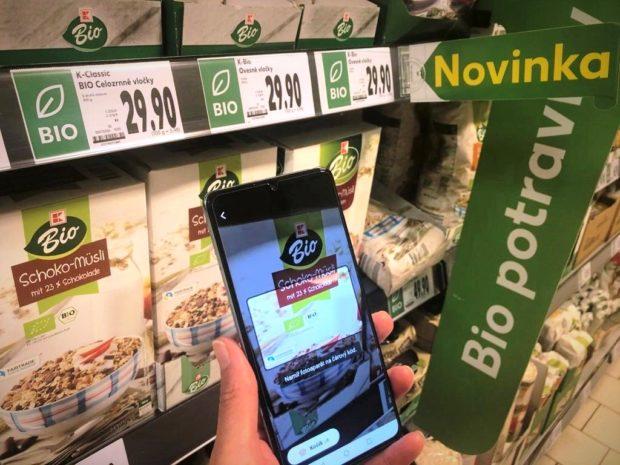 Kaufland testuje možnosti snadného nákupu pomocí mobilní aplikace