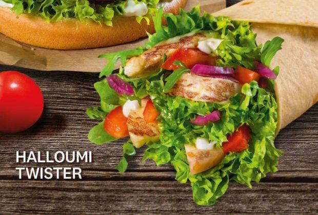 KFC uvádí na trh vegetariánské sendviče Vege Halloumi