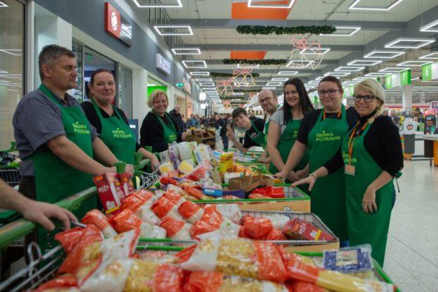 Podzimní Sbírka potravin se uskuteční 21. listopadu