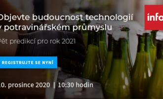 Webinář Infor: Technologie v potravinářství 2021
