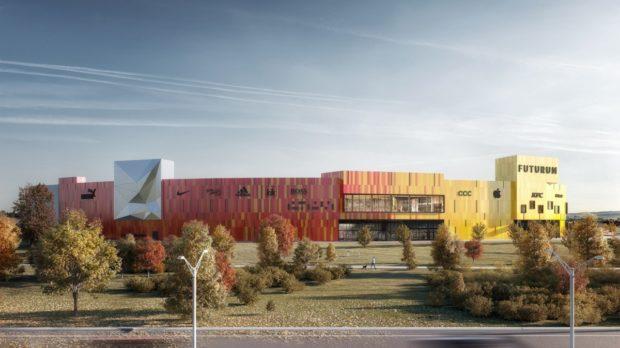 Obchodní centrum Futurum pokryje část své spotřeby ze solární energie