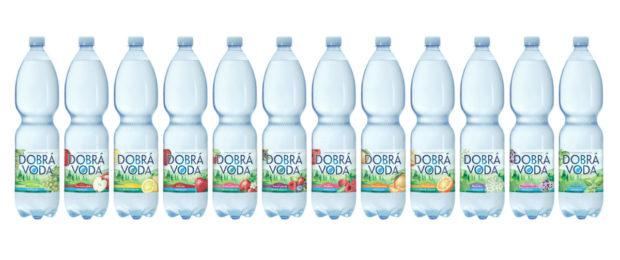 Dobrá voda sjednotila barvu PET lahví