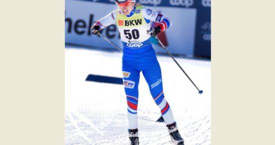 Coop je vidět i na lyžích